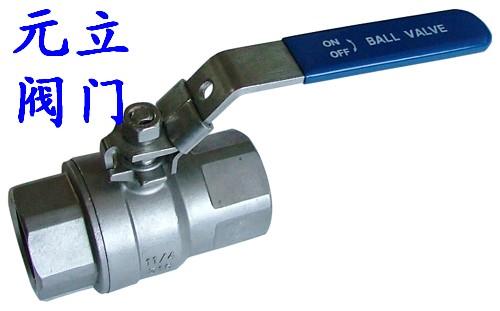 供应二片式球阀q11f图片