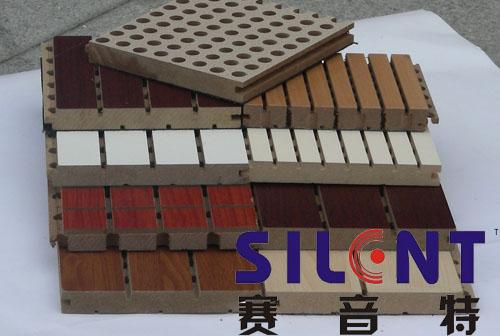 木质装饰吸音材料河南一航图片