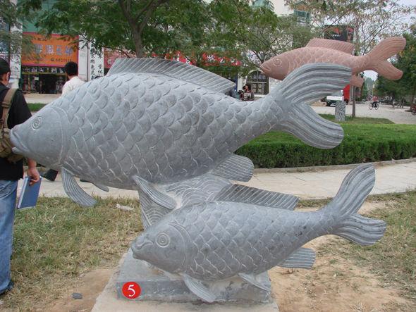 石雕动物图片