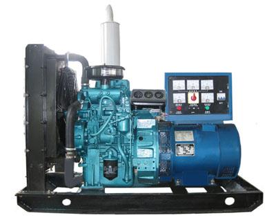 2115柴油机与发电机的接线图