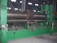 海安锋威机床专业生产W11系列机械三辊对称式卷板机