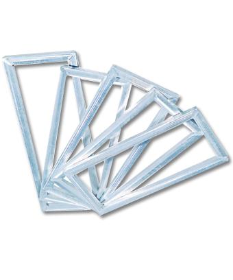 供应丝印铝框高强度铝框网框图片
