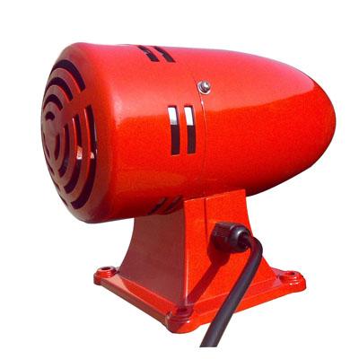供应工业警报器 不锈钢马达报警器 车间工厂仓库码头警示用电动警报器
