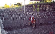 供应公共场所自行车