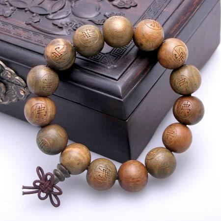 名贵木雕佛珠图片