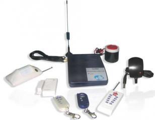 移动无线GSM彩信智能防盗报警主机图片