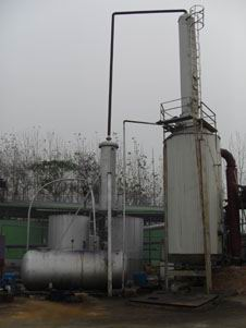全自动废橡胶炼油