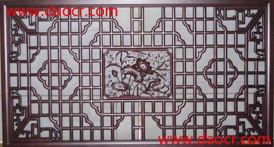 实木仿古中式花格窗报价图片