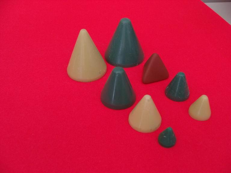 供应塑胶磨料抛光石研磨石