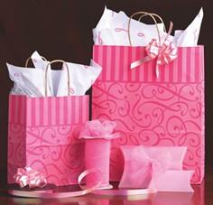 供应烟台手提纸袋,烟台礼品袋,烟台购物袋,牛皮纸袋