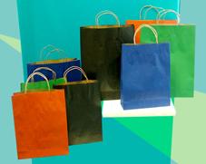 供应烟台牛皮纸购物袋,烟台礼品纸袋,烟台食品袋