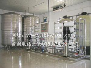 电瓶专用蒸馏水机,电池用蒸馏水设备图片