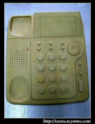 应石膏模型电话机