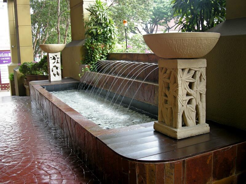 供应室内喷泉水景图片