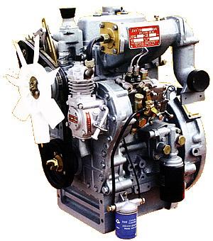 东方红拖拉机的4105发动机与4108发动机外形一样吗?图片