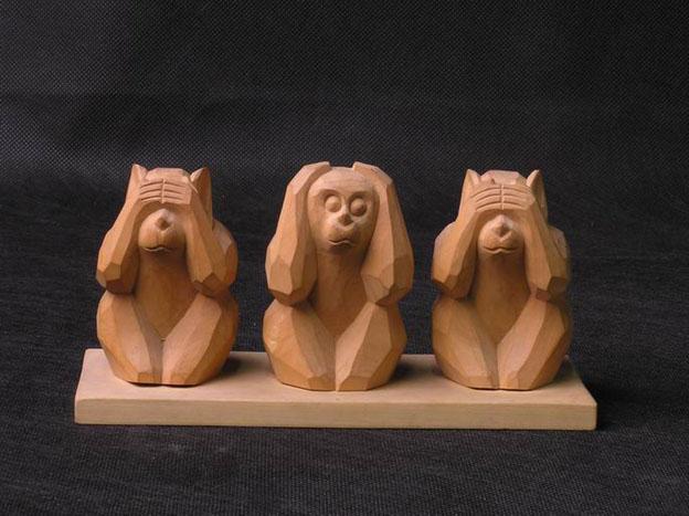 公司生产木雕佛像山猿