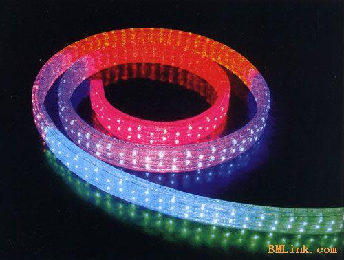供应LED灯带(扁四线)