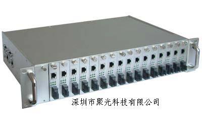 供应16槽插卡式收发器机架批发
