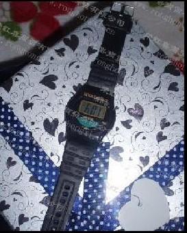 供应中文语音报时手表腕表图片