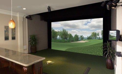 四川成都最先进室内高尔夫会所系统图片