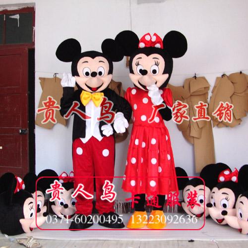 供应婚礼米老鼠卡通人偶米奇米妮
