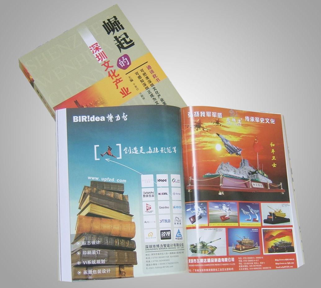 深圳企业形象ci展会画册彩页设计公司图片