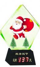 供应圣诞礼物圣诞倒计时(水晶工艺品)
