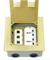 供应强电弱电一体化地面插座批发