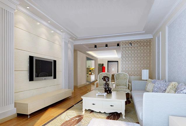 家庭装潢设计效果图 室内装潢设计效果图 客厅装潢设计效