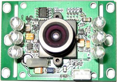供应彩色ccd可视门铃摄像头