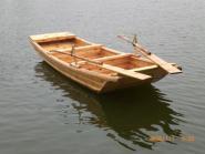 传统小木船图片
