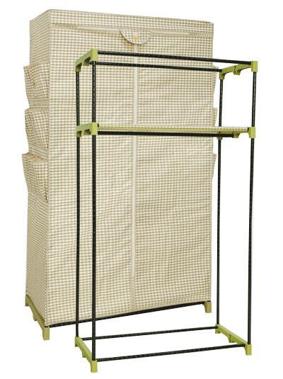方管钢架结构衣柜示意图