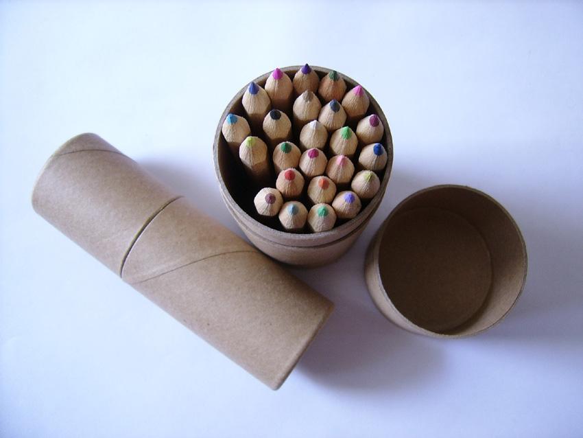 供应筒装铅笔六角铅笔,上海铅笔定做,上海广告笔生产供应图片