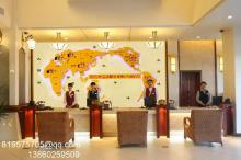 供应在建酒店信息:酒店大堂装饰-世界时钟