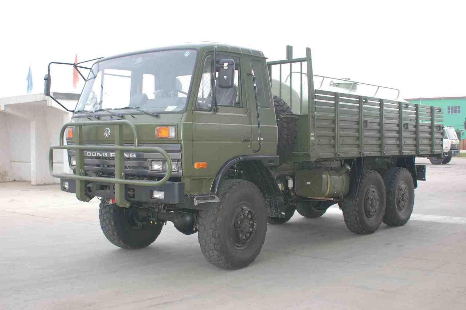 供应东风六驱越野卡车军车