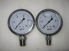 供应全不锈钢耐腐蚀耐高温油压表
