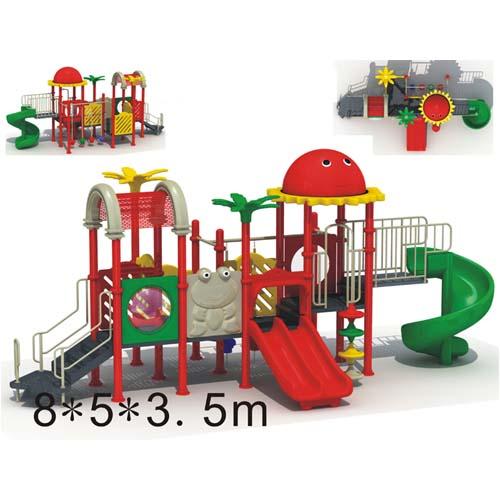 供应广东大型儿童游乐设施设备滑梯