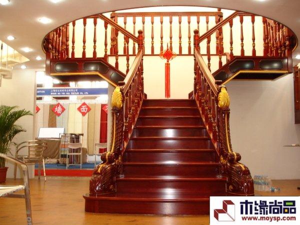 实木楼梯扶手立柱图片