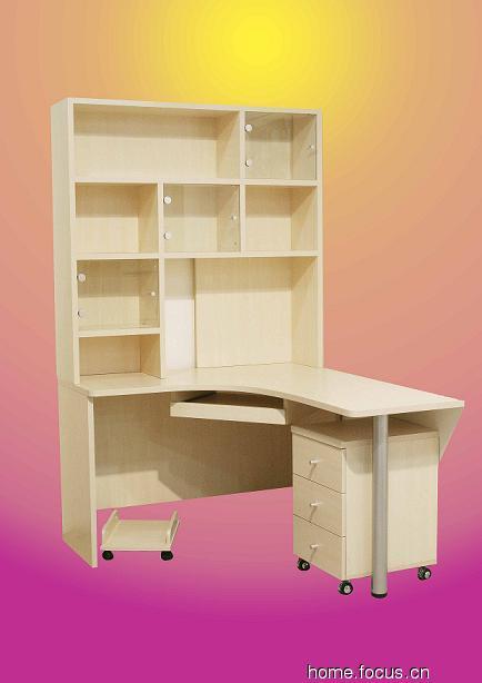 实木办公桌子图片_实木办公桌子图片大全