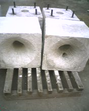 供应硅酸铝陶瓷纤维烧咀砖