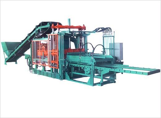 供应便道砖机 彩砖制砖机 彩砖机 空心制砖机 制砖机械图片