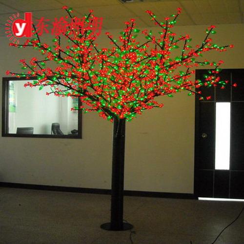 樱花树_樱花树供货商_供应led蓝色樱花树