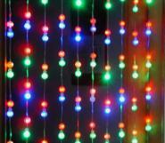 节日灯LED灯串系列LED窗帘灯图片