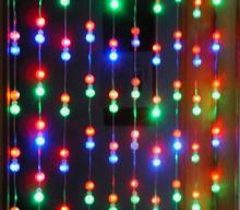 节日灯LED灯串系列LED窗帘灯