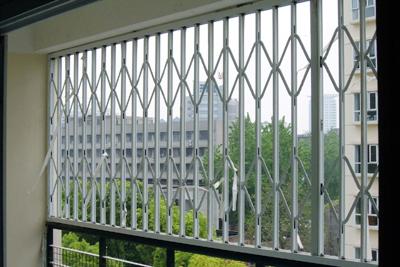 供应苏州彩钢防盗窗 可推拉折叠图片