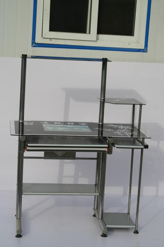 富浩电脑桌厂生产供应95全铁电脑桌
