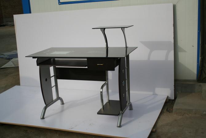 供应800工艺玻璃电脑桌