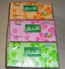 供应软抽式纸巾、面巾纸巾、酒店宾馆生活用纸巾