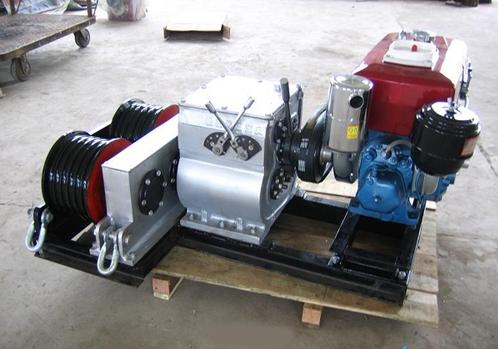 轴传动型机动绞磨图片/轴传动型机动绞磨样板图