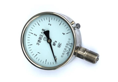 供应Y-B系列不锈钢压力表